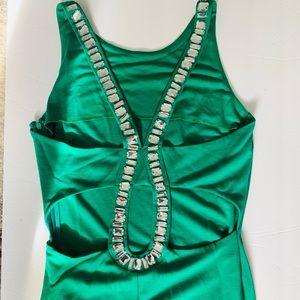 Embellished back dress